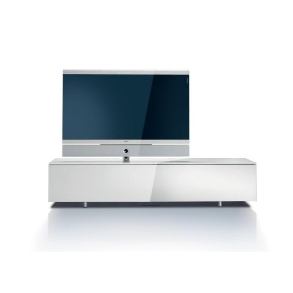 Mueble television loewe individual rack system 165 30 blanco for Mueble para tv blanco