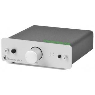 Previo de phono USB Project Phono Box USB V Es previo de phono y a la vez conver