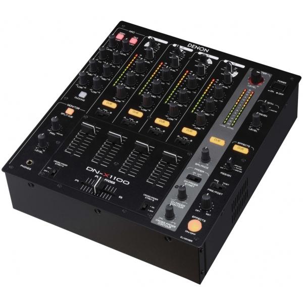 Denon DN-X1100 mesa 4 canales, 8 fuentes de entrada (3 para fono)