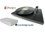 Project Debut III + Cambridge Audio Azur 551P