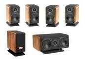 Chario Piccolo Star Kit Conjunto cine en casa, satelites 2 vias cajas de madera,