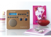 Tivoli Audio SongBook Radio AM/FM portátil, entrada auxiliar, cargador de baterí