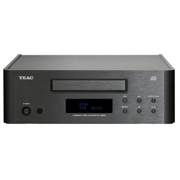 Teac PD-H600 Reproductor de CD de tamaño compacto. Componentes de alta calidad
