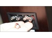 Altavoces Tannoy Revolution DC6 Acabado Espresso, altavoz de estantería de 2 vía