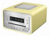 Sonoro Cubo Mini cadena. Radio/Cd, despertador.