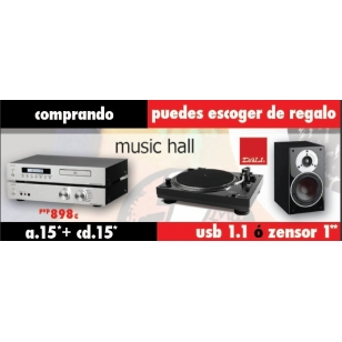 Music Hall a.15 y cd.15