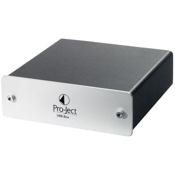 Project Record USB Box Convertidor digital/analogico. Entradas USB y RCA.