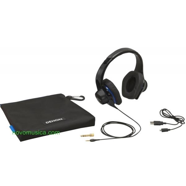 Auriculares Denon AH-D400 AHD400 amplificador integrado y control volumen, bater