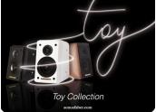 Sonus Faber Toy Altavoz de estanteria. 2 vias, puerto reflex trasero, 8 ohmios.