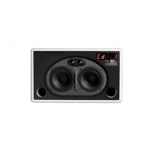 Geneva Lab Model L altavoz para iPod 2x50Watios con lector de CD (CD Text, MP3..
