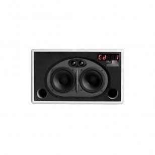 Geneva Lab Model L altavoz para iPod 2x50Watios con lector de CD (CD Text, MP3..