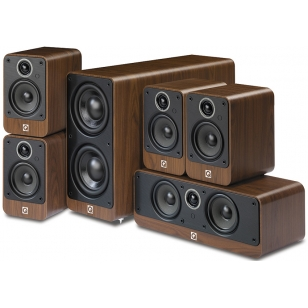 Altavoces Home Cinema QAcoustics 2000i pack