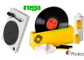 Pack Giradiscos Rega RP1 y maquina limpieza Project Record Washer