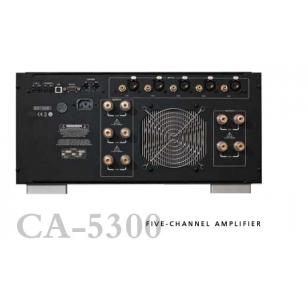 Classe CA5300 Etapa de potencia multicanal 5x300 W. Entradas RCA/XLR