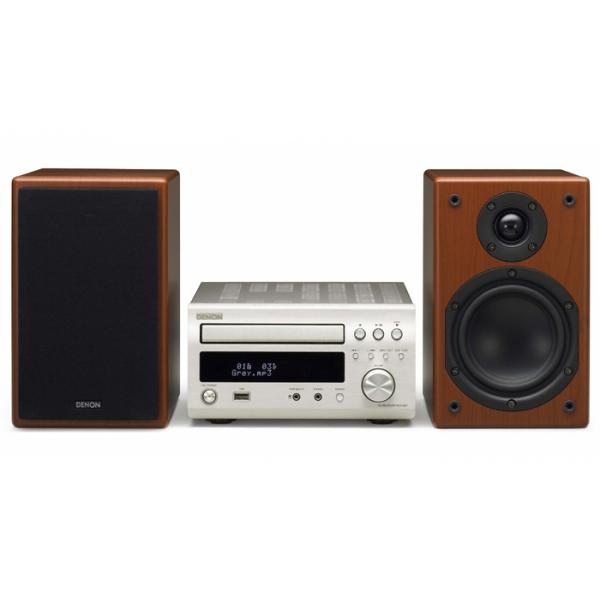 Denon D-M37 DAB MIcro cadena, lector CD-MP, radio FM y DAB, USB,2x30w.l -- Hasta