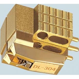 Denon DL-304 Capsula MC, bobina móvil. Cantilever con un solo punto de suspensió