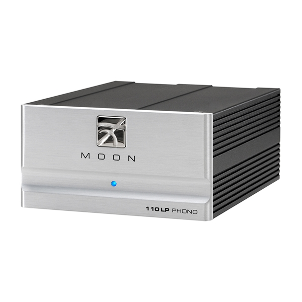 Moon 110LP previo de phono MM/MC con ganancia, capacitante y carga configurables