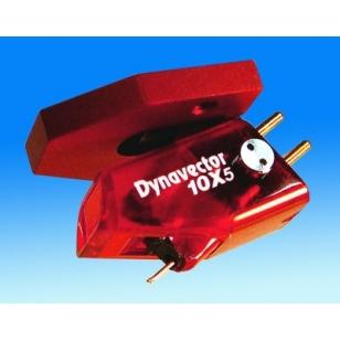 Dynavector DV 10X5 Capsula MC, bobina móvil. Flux damper. Aguja eliptica.  Nivel