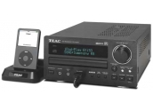 Teac CRH-227i Mini cadena base externa dock Ipod, CD con MP3, 2x25Watios. Radio