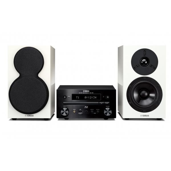 Yamaha MCR-755 Equipo de música Micro con reproductor Blu Ray 3D, HDMI 1.4, 30 W