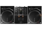 Pioneer DJM250MK2 + 2x PLX500