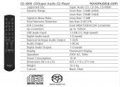 Lector CDs Teac CD-3000 Distinction