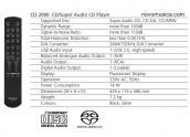 Lector CDs Teac CD-2000 Distinction SACD con USB 2.0