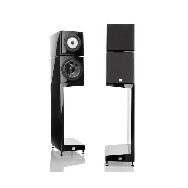 Vienna Acoustics The Kiss Altavoz de estanteria. 3 vias, puerto reflex trasero,