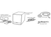 Altavoces para ordenador Bose Companion 3 II