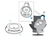 Sennheiser RS160 sistema inalámbrico digital con tecnología Kleer