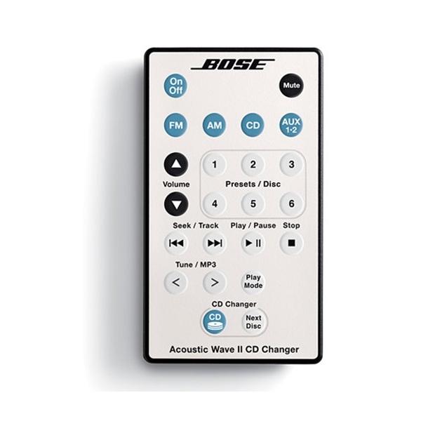 Bose Acoustic Wave Music System III Mini cadena. Radio AM/FM. Cargador CD, capac