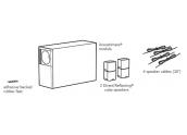 Bose Acoustimass 5 SIII Altavoz estanteria. Sistema satelites cubo doble y subwo