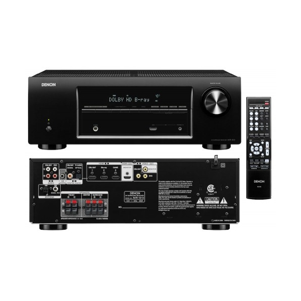 Home Cinema Denon AVR1513 + Focal Sib&CO 5.1