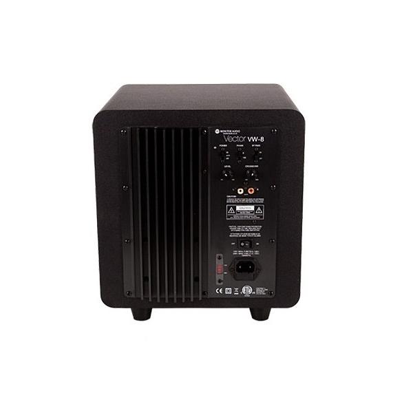 Monitor Audio Vector W8 Subwoofer 100w. Altavoz de 203mm. Recinto reflex. Entrad