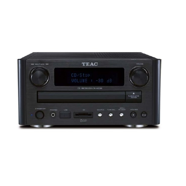 Teac CRH-238i Micro cadena 2x25w.. Lector CD-MP3-WMA. USB y lector tarjetas SD.