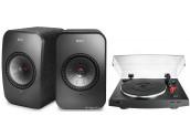 KEF LSX + AudioTechnica LP3