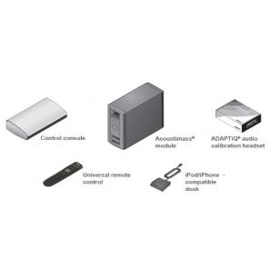 Bose Lifestyle V25 Sistema altavoces Doble Cubo, sintonizador FM, Base iPod, Man