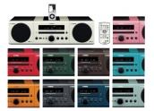 Yamaha MCR-040 Mini cadena. Altavoces independientes, 8 colores disponibles -- C