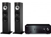 Yamaha AS801 + B&W 603