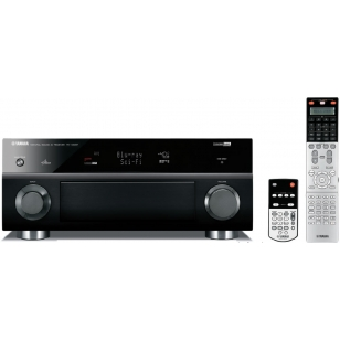 Yamaha RX-V2067 3D, 140W x 7 canales, amplificación asignable Bi-Amp o Surround
