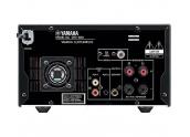Yamaha MCR-550 Micro cadena. Dock iPod, USB, minijack, radio AM/ FM. Lector CD-M
