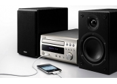 Denon D-M38 Micro cadena, lector CD, radio AM/FM. USB iPod direct, 30W x2b. Prem