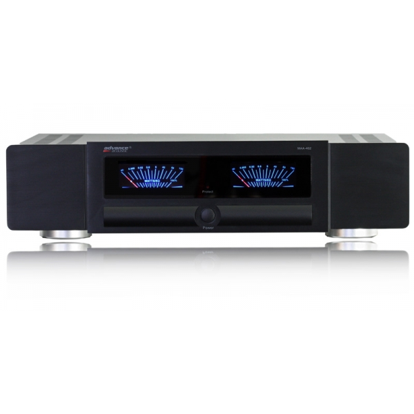 Advance Acoustic MAA402 Etapa de potencia estereo 2x70w. 2x15w en clase A. Trans