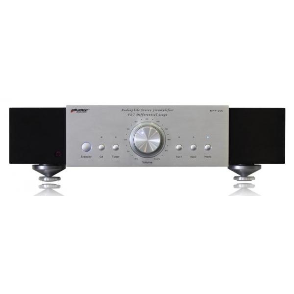 Advance Acoustic MPP206 Preamplificador estereo. 4 entradas RCA  + 1 phono, mand