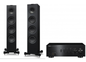 Yamaha AS701 + KEF Q550
