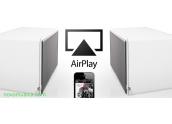 Altavoz tecnología AirPlay, entrada auxiliar, óptica, subwoofer out, 100 Watios
