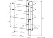 Mueble HIFI Sonorous RX2140