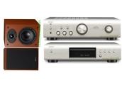 Equipo de sonido Denon DCD-520 + PMA-520 + SC-F109