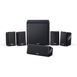 Altavoces Home Cinema Yamaha NS-P40 NSP40 conjunto 5.1 lacado negro NSP40, subwo