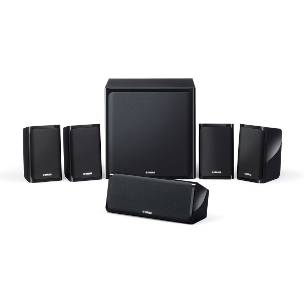 Altavoces Home Cinema Yamaha NS-P40 NSP40 conjunto 5.1 lacado negro NSP40, subwo